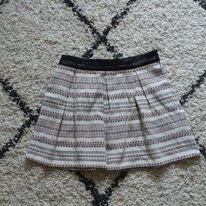 Zara tribal print skirt
